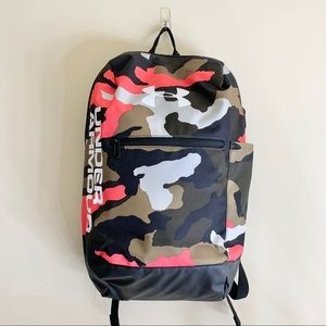 Under Armour Patterson Backpack, Halo Black Coral